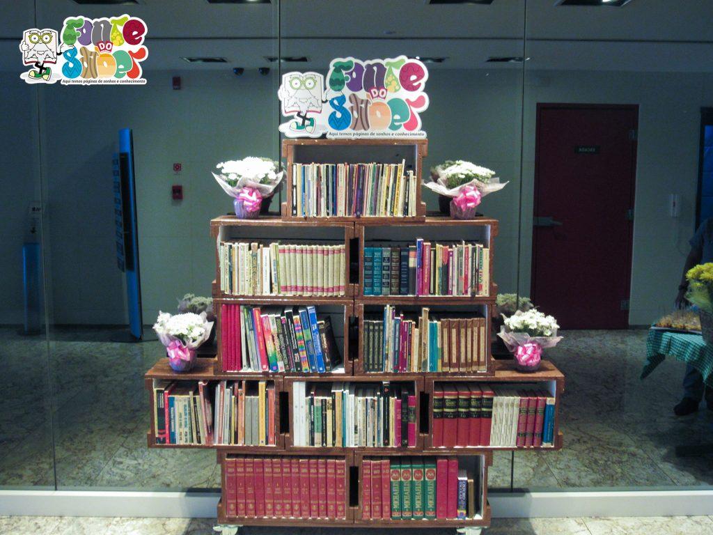 Foto - Biblioteca do Edifício Greenwich em Vitória.